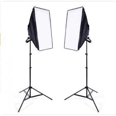 Набор постоянного студийного света - Освещение для фотостудии, Софтбок