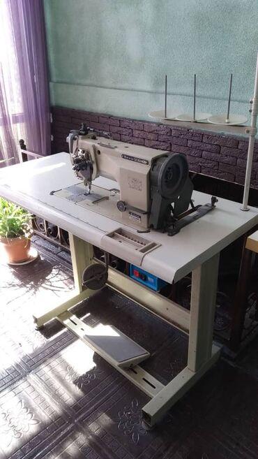 швейная машинка маленькая купить в Кыргызстан: Продаю промышленную швейную машину двухстрочную с поворотом иглы