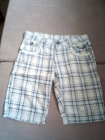 Ostala dečija odeća | Sabac: Pamučne dečije muške bermude vel. 152, nošene par puta, kao nove