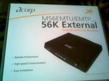 Модем ACORP 56000 в полной комплектации. в Бишкек