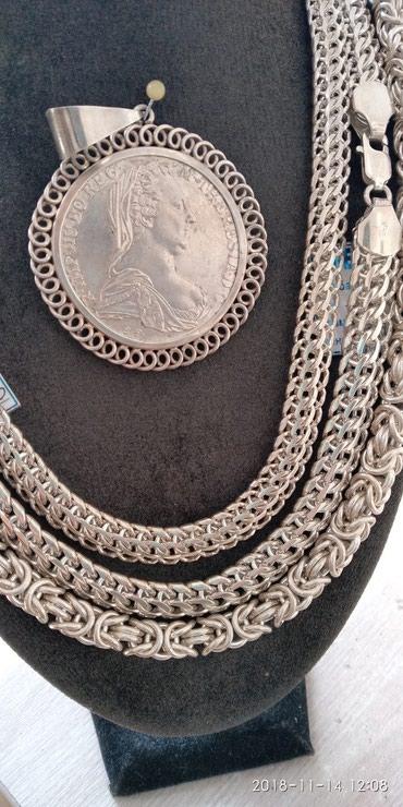 Продаю цепи, браслеты мужские и в Бишкек