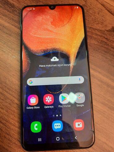 bu face the - Azərbaycan: İşlənmiş Samsung A50 64 GB Göy