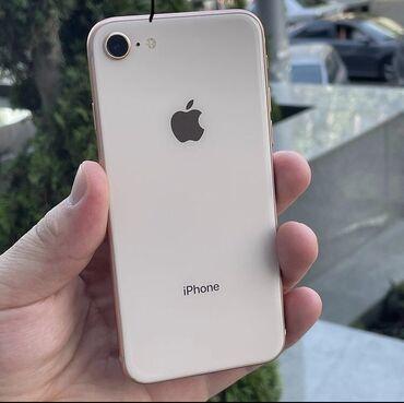 IPhone 8 | 64 ГБ | Золотой | Б/У | Отпечаток пальца, Беспроводная зарядка