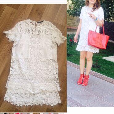 Zara платье 100% хлопок, размер М, в идеальном состоянии