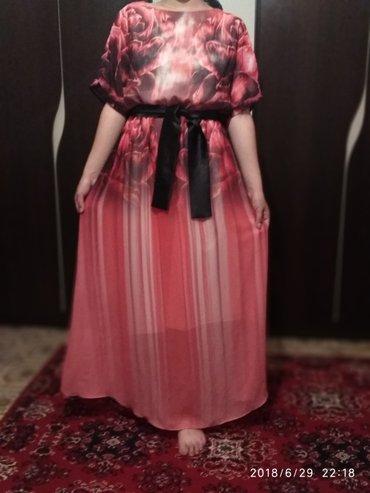Платье шифоновое 3D очень нежно смотриться размер стандарт в Сокулук