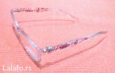 Okvir za naočare, sa dioptrijom, kvalitetan, kao nov, malo nošen - Pozarevac