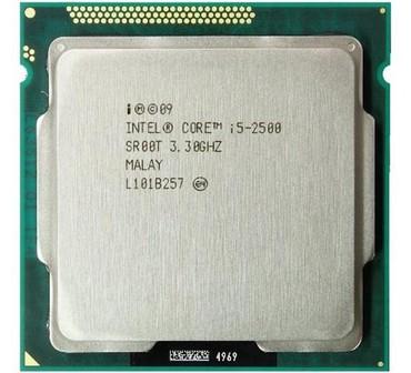 socket 1155 материнская плата в Кыргызстан: Intel Core I5-2500 3.3-3.7 GHz/6MB/ Mhz. **********Intel Core I5-2500