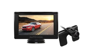 Bakı şəhərində Avtomobil ucun arxa kamera ve monitor 5 inch ekran.  istifadəcinin