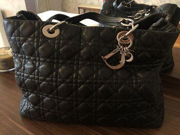 большая клетка для морской свинки в Азербайджан: Большая вместительная сумка от Dior. Оригинал. В хорошем состоянии