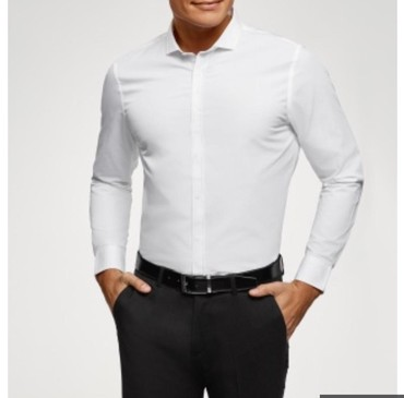 Белый рубашка мужская в Бишкек