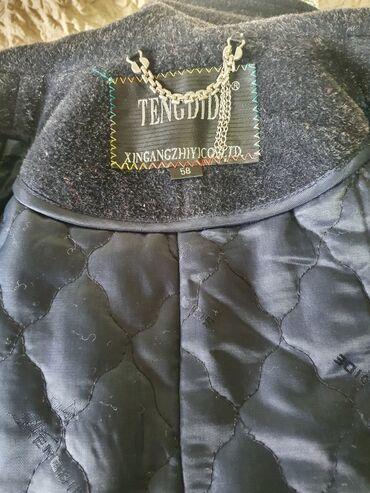 зимние пальто бишкек в Кыргызстан: Пальто зима -весна! Финское. Чистая шерсть. Цвет темно синий. Размер