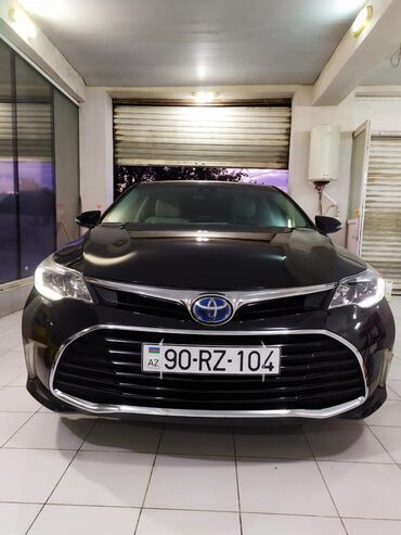kiraye evler 2016 - Azərbaycan: Toyota Avalon 2.5 l. 2016 | 25000 km