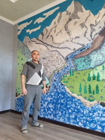деревянный дом бишкек в Кыргызстан: Жидкие обои. Самый большой ассортимент цветов. Также вы можете
