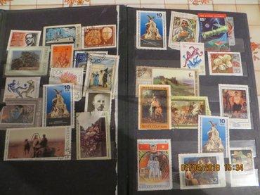 Коллекция марок собранных во время в Бишкек