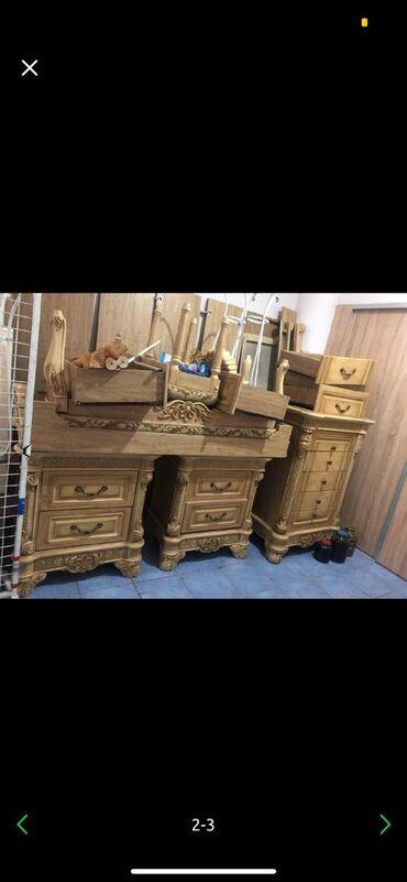 Спальный гарнитур очень красивый, богато смотрится очень! В Комплекте