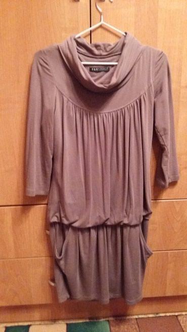 Классная платье-туника с карманами, в Бишкек