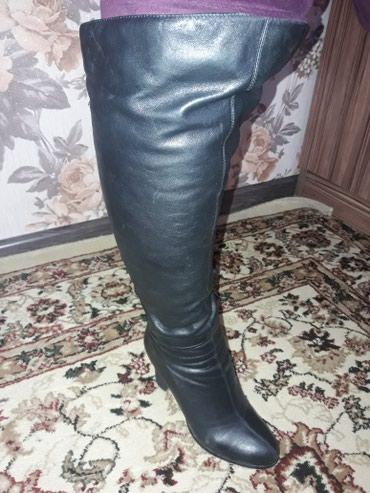 Кожаный зимние сапоги 39 размер в Бишкек