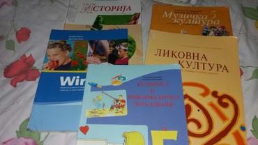 Razno po - Srbija: Prodajem knjige za 5 razred po komadu150d
