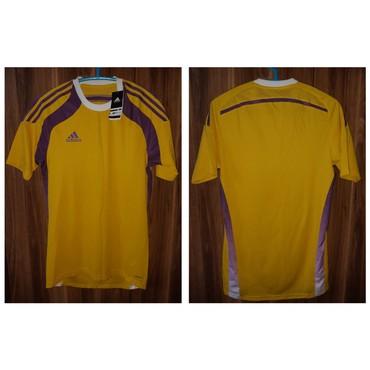 adidas m в Кыргызстан: Новая желтая футболка Adidas adizero размер M. Лучше звоните