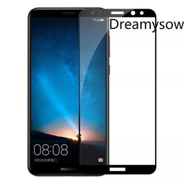 Tempered glass za Huawei P20 Lite zakrivljeni crni.  Stakla su FULL CO - Beograd