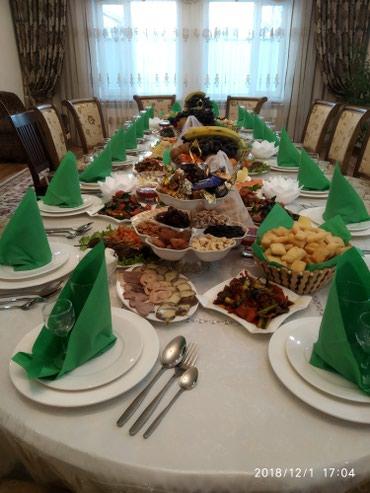 """Услуги повара на выезд""""Куда тосуу"""" """"Кыз в Бишкек"""