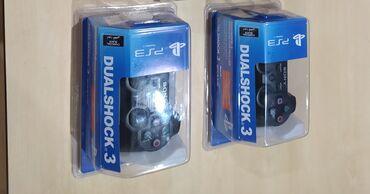 Video oyunlar üçün aksesuarlar - Azərbaycan: PlayStation 3 joystikləri yenidir, pakovkası açılmayıb.PS3 aparatını