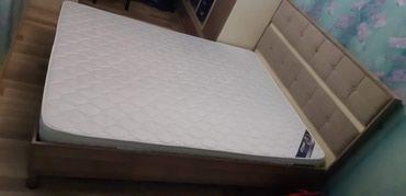 Двуспальная кровать с ортопедическим в Bakı