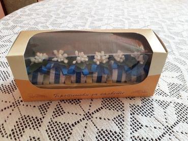 Ostali kućni dekor - Srbija: Prodajem kutije za prstenove za salvete, veoma povoljno