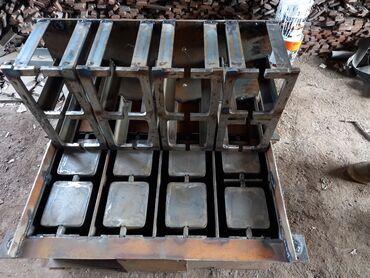 Оборудование для бизнеса - Кыргызстан: Делаем матрицы для пескоблока за короткие сроки металл каленый