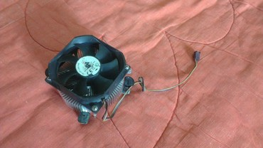 Системы охлаждения в Кыргызстан: Кулер на проц cpu сокет 775 цена за 1шт. термопаста намазана