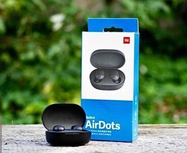куплю левый наушник airpods в Кыргызстан: AIRDOTS ОТ XIAOMI БЛЮТУЗ НАУШНИКИ Бишкек отличного качества