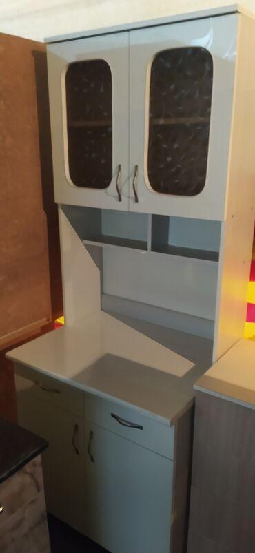 Новые кухонные шкафы 75см 5500 сом с бесплатной доставкой по городу