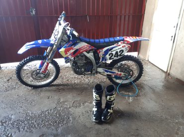 Кроссовый мотоцикл yamaha yz450f. состояние в Бишкек