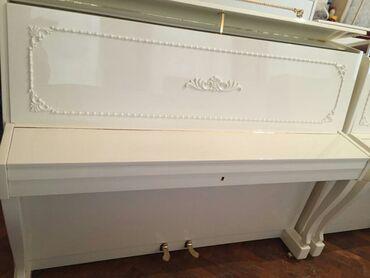 Pianino RÖNISCH Almaniya stehsalı. Əla vəziyyədədi. Köklənub, kamerton