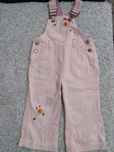 Pantalone tregerice za devojcicu. Vel. 86. Mada mogu i za 92. Obucene - Prijepolje