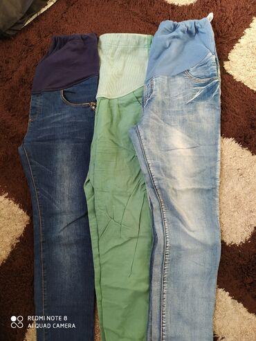 белое платье для беременных в Кыргызстан: Штаны джинсы для беременныхв хорошем состоянии