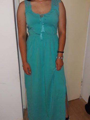 Prelepa haljina,uni,nosena par puta,boja fantastična!1600 din. - Kraljevo