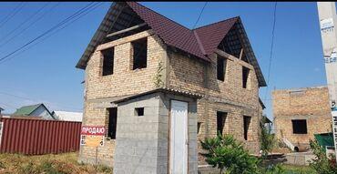 Срочно продаю недостроенный дом в ж.м. Биримдик-Кут 160 кв.м 4