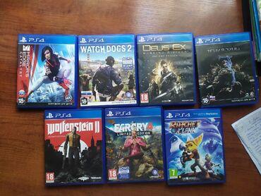 Видеоигры и приставки - Кыргызстан: Продам диски PS4, полная лицензия, все полностью на русском языке (суб