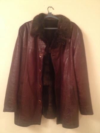 Продаю - куртку кожаную двойную, на в Бишкек