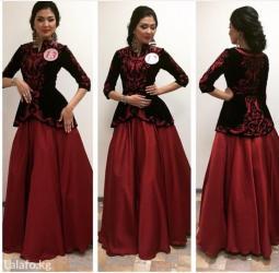 Продаю дизайнерское платье от Айпери Обозовой. Размер 46-48,подрйдет и in Кок-Ой