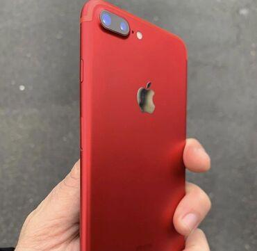 İşlənmiş iPhone 7 Plus 128 GB Qırmızı