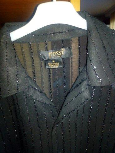 Crna muška košulja ,kratkih rukava ,velicina M - Smederevska Palanka