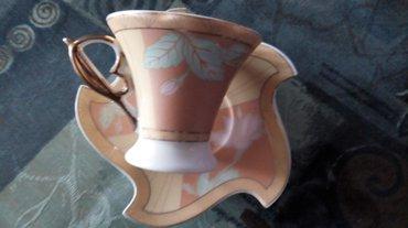 Set soljica za kafu,japanski porcelan.6kom..sa 24 karatnom pozlatom. - Kraljevo