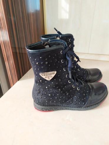 Детская обувь в Кыргызстан: 31-32размер Деми ботинки. Покупали в минимен