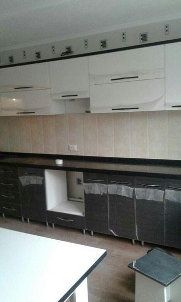 доставка кухонной мебели в Кыргызстан: Кухонный гарнитур пог/метр по 11000сомкачество отличноезамер