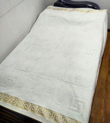 Покрывало велюровый 100% хб   2х спальное  в Бишкек
