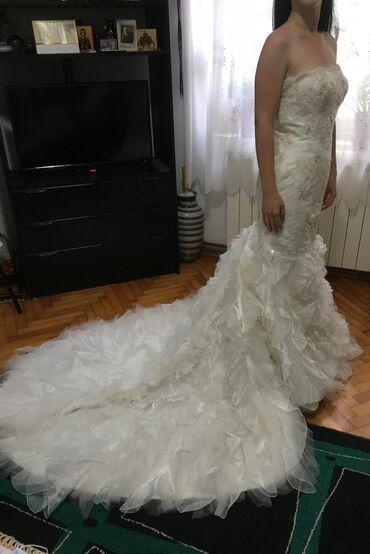 Venčanice - Srbija: Raskošna venčanica kupljena u Njujorku. Samo jedanput nošena, prošla