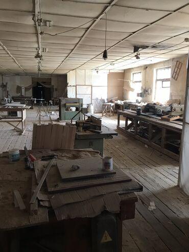 Недвижимость - Сокулук: Сдаётся столярный цех, в Центре Сокулука полностью оборудован охра
