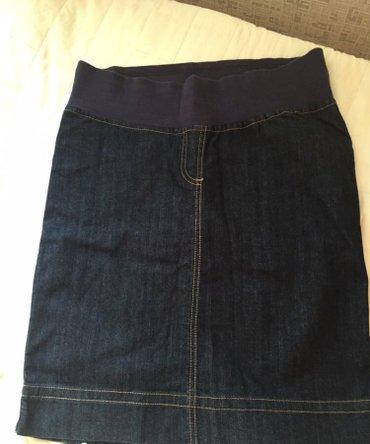Bakı şəhərində Джинсовая юбка для беременных, в хорошем состоянии, benetton, размер s